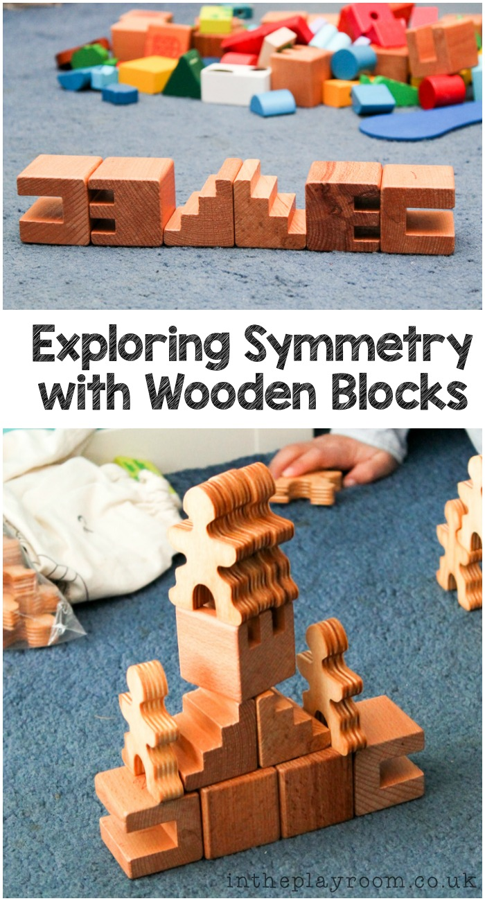 Exploring Symmetry with Wooden Building Blocks