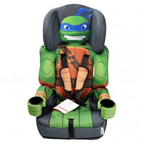 Kids Embrace 123 Car Seat Leo from TMNT