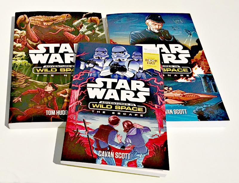 StarWars Adventures In Space series, and world book day special book