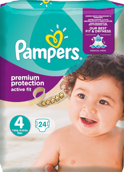 pampers active fit pack