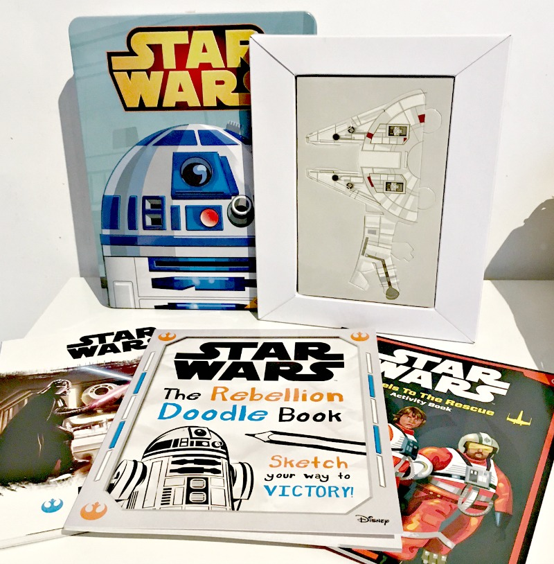 star wars activity books tin