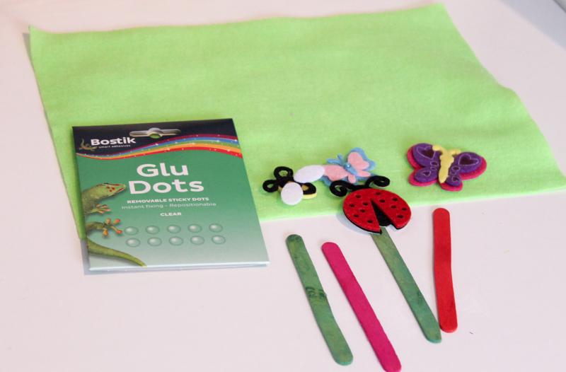 supplies for garden busy bag