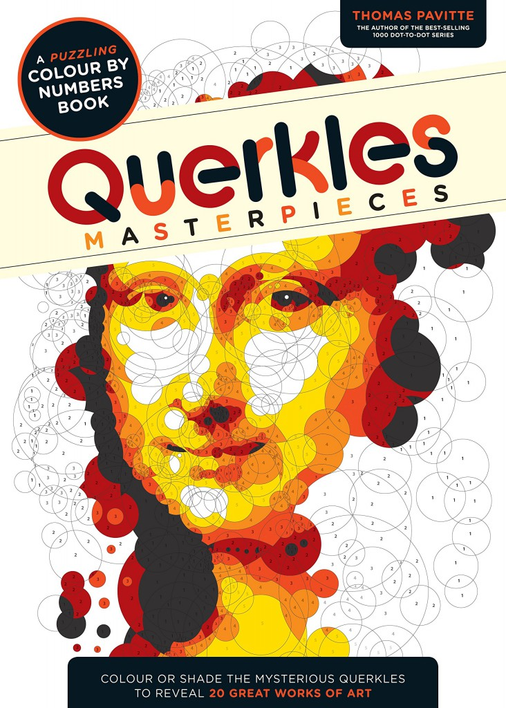 Querkles puzzling colour by number book