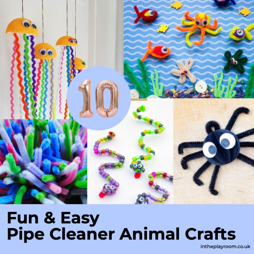 10 fun and easy pipe cleaner animals crafts to make with kids