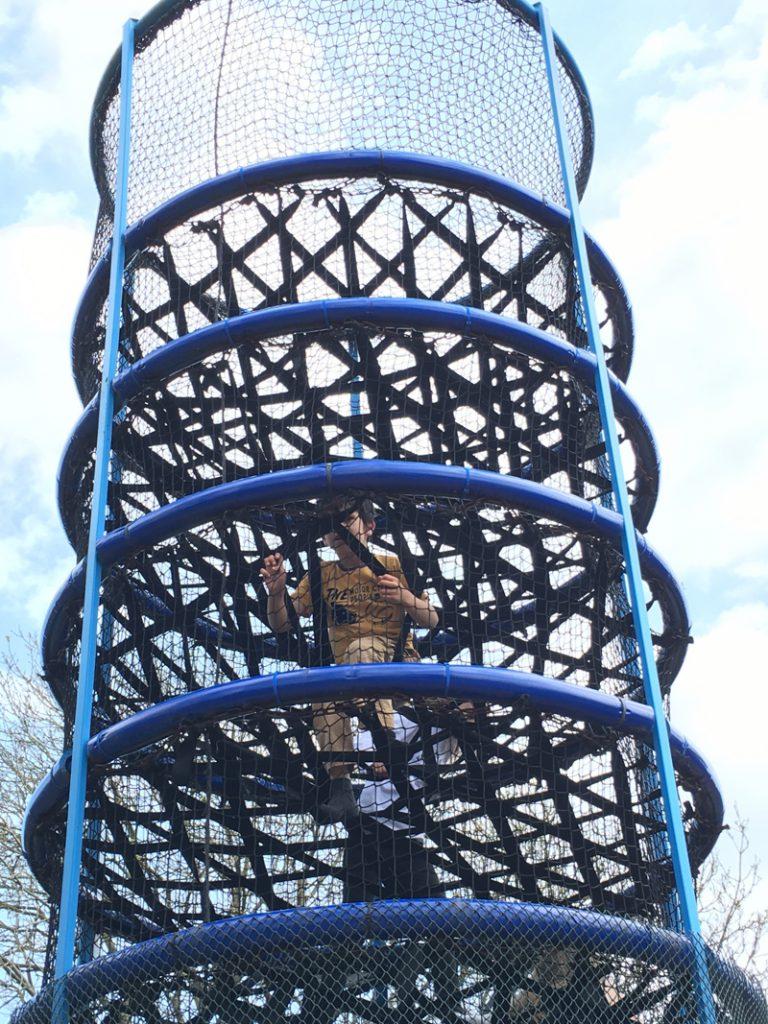 spider tower drusillas playground