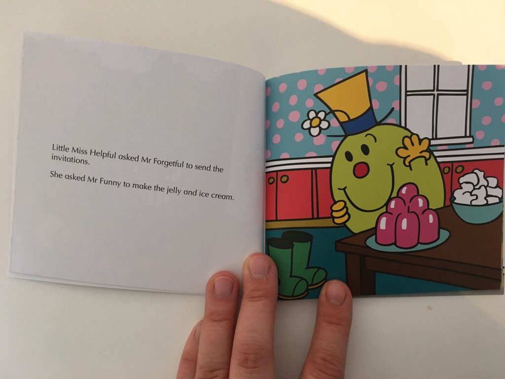 Mr Men Birthday Party - In The Playroom