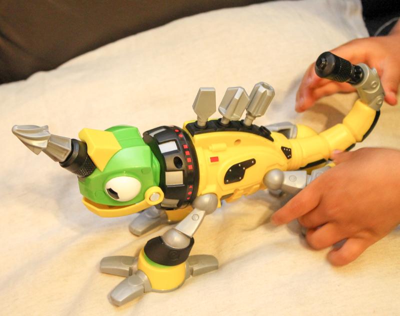 Dinotrux Power Revvitt with drill bits