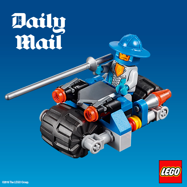 free Lego nexo knights toys in the daily mail