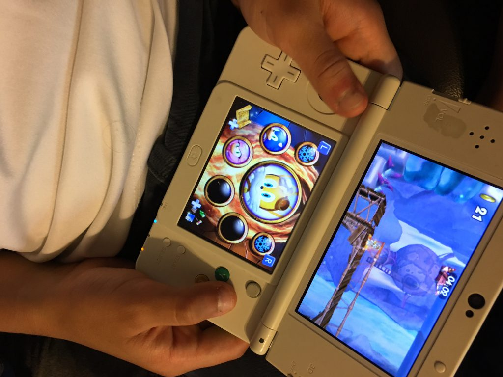playing sonic boom fire and ice on nintendo 3ds