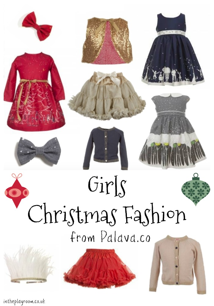 girls christmas dresses and christmas outfit ideas from Palava