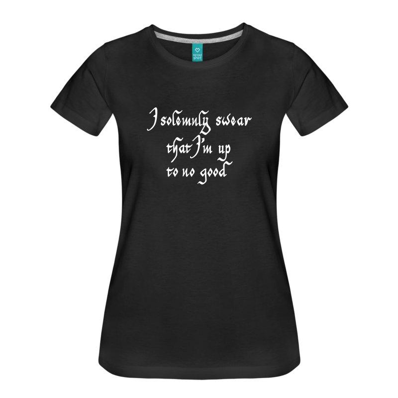 i-solemnly-swear-t-shirts-womens-premium-t-shirt