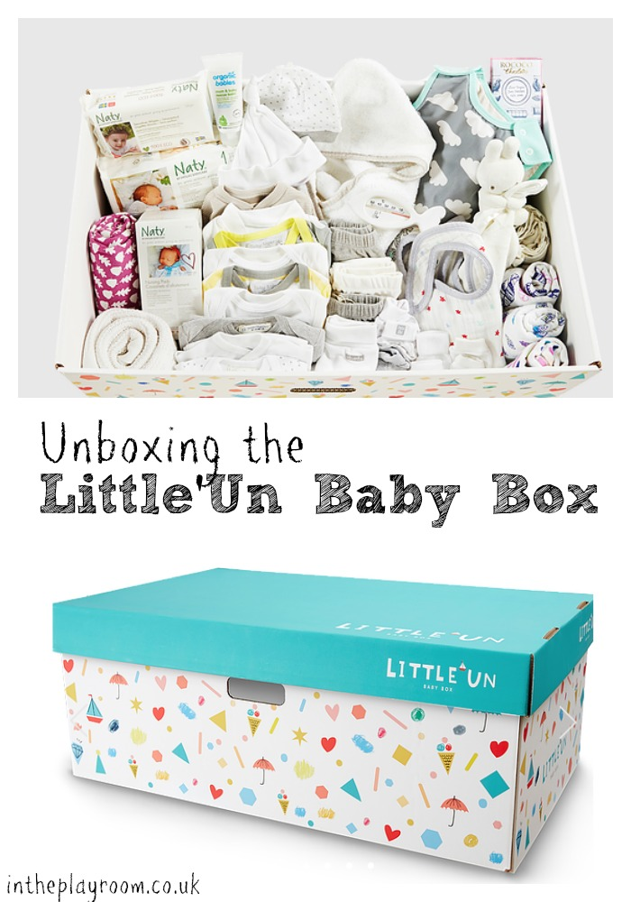 Finnish Baby Gift Box : Unboxing the little un baby box in playroom