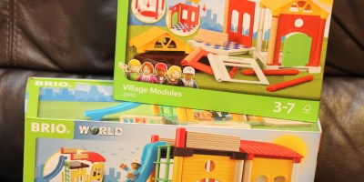 Brio School Playset and Expansion Modules