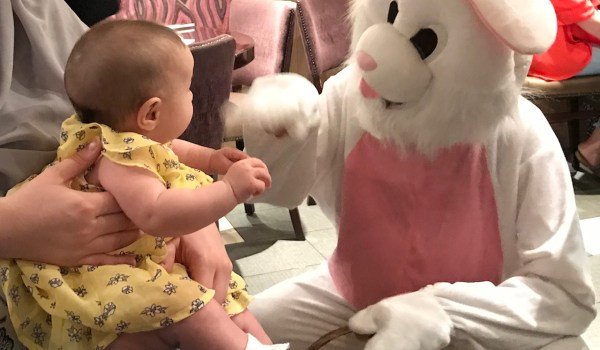 Easter Bunny Breakfast at the Hard Rock Cafe