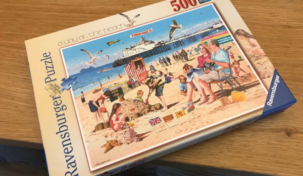 Ravensburger A Day At The Beach 500 Piece Puzzle Review
