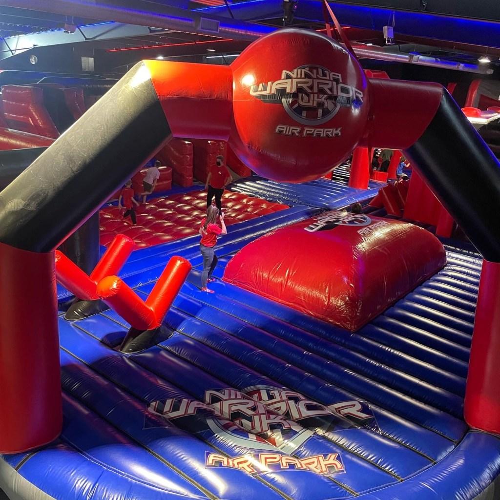 ninja warrior uk inflatable air park