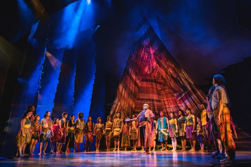 The prince of Egypt Musical dominion theatre