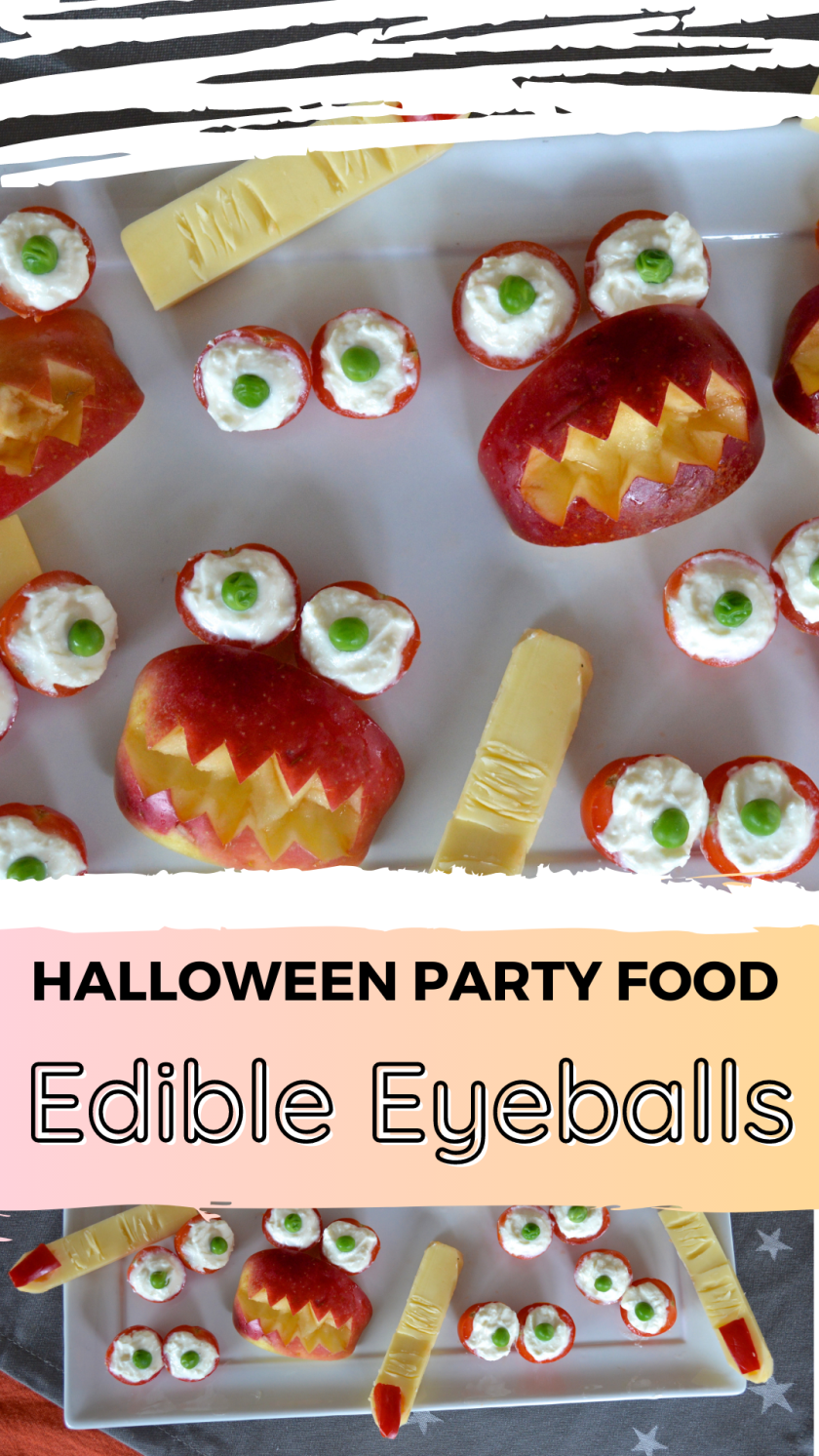 How to make edible eye balls for kids Halloween parties