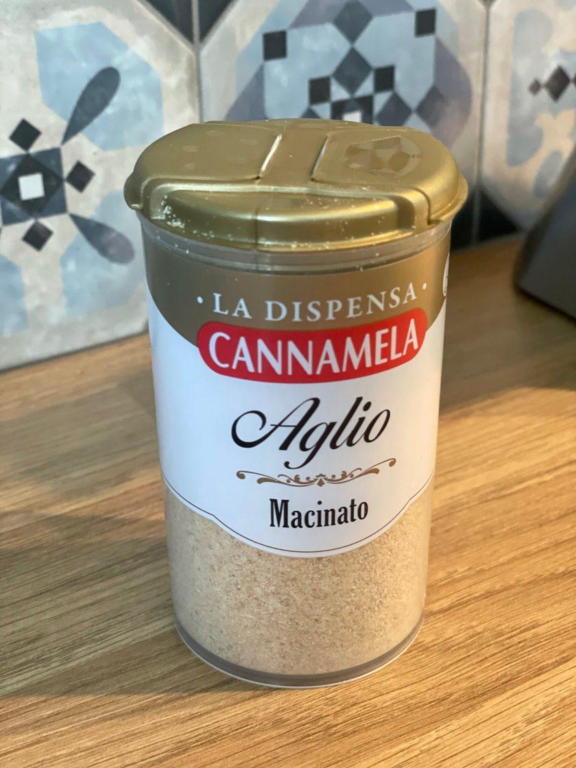 cannamela garlic powder aglio macinato