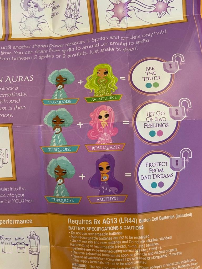 meanings of auras crystalline dolls