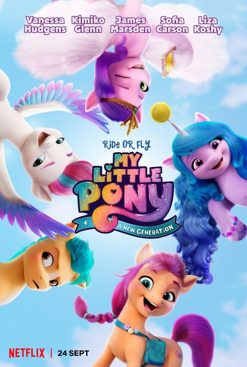 my little pony a new generation on Netflix poster
