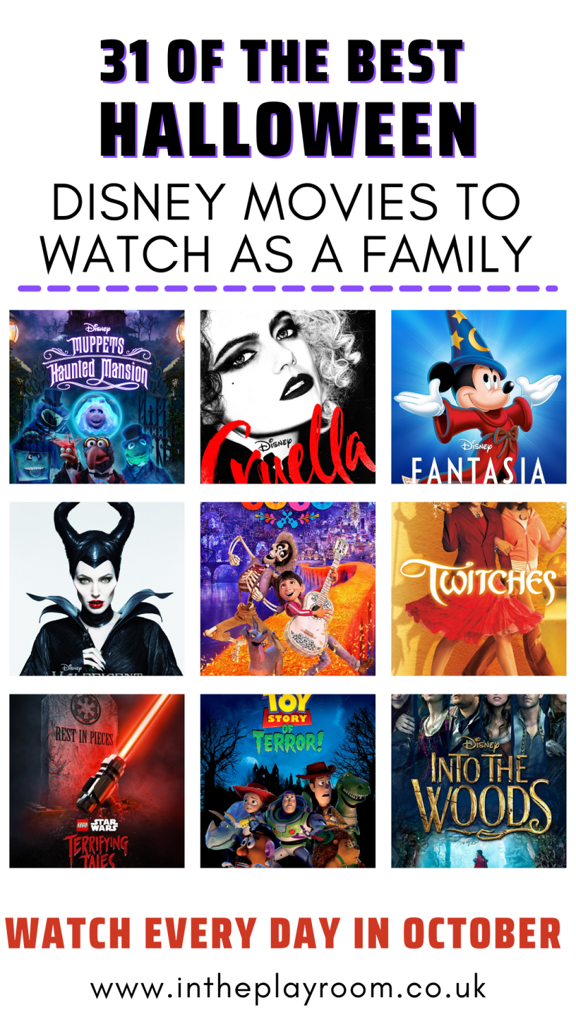 31 of the best Halloween Disney Movies to Watch as a family every day throughout October