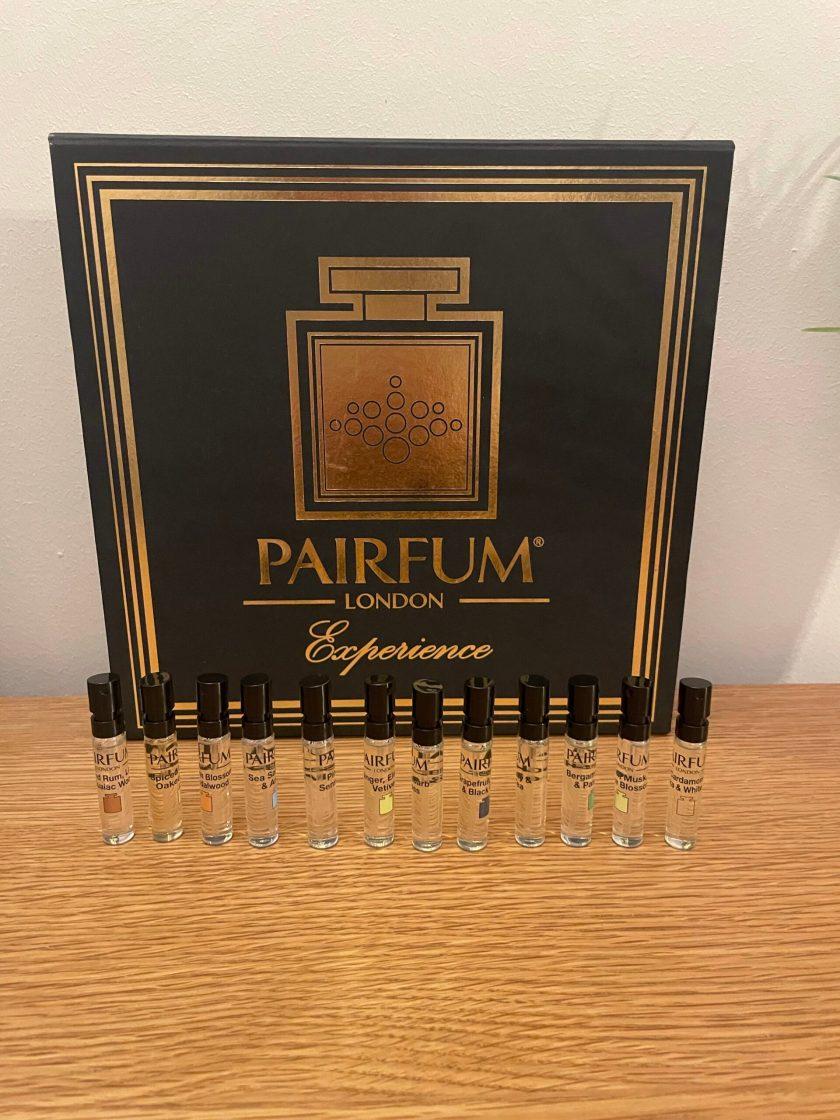 Pairfum London Fragrance Library Perfume Experience Box