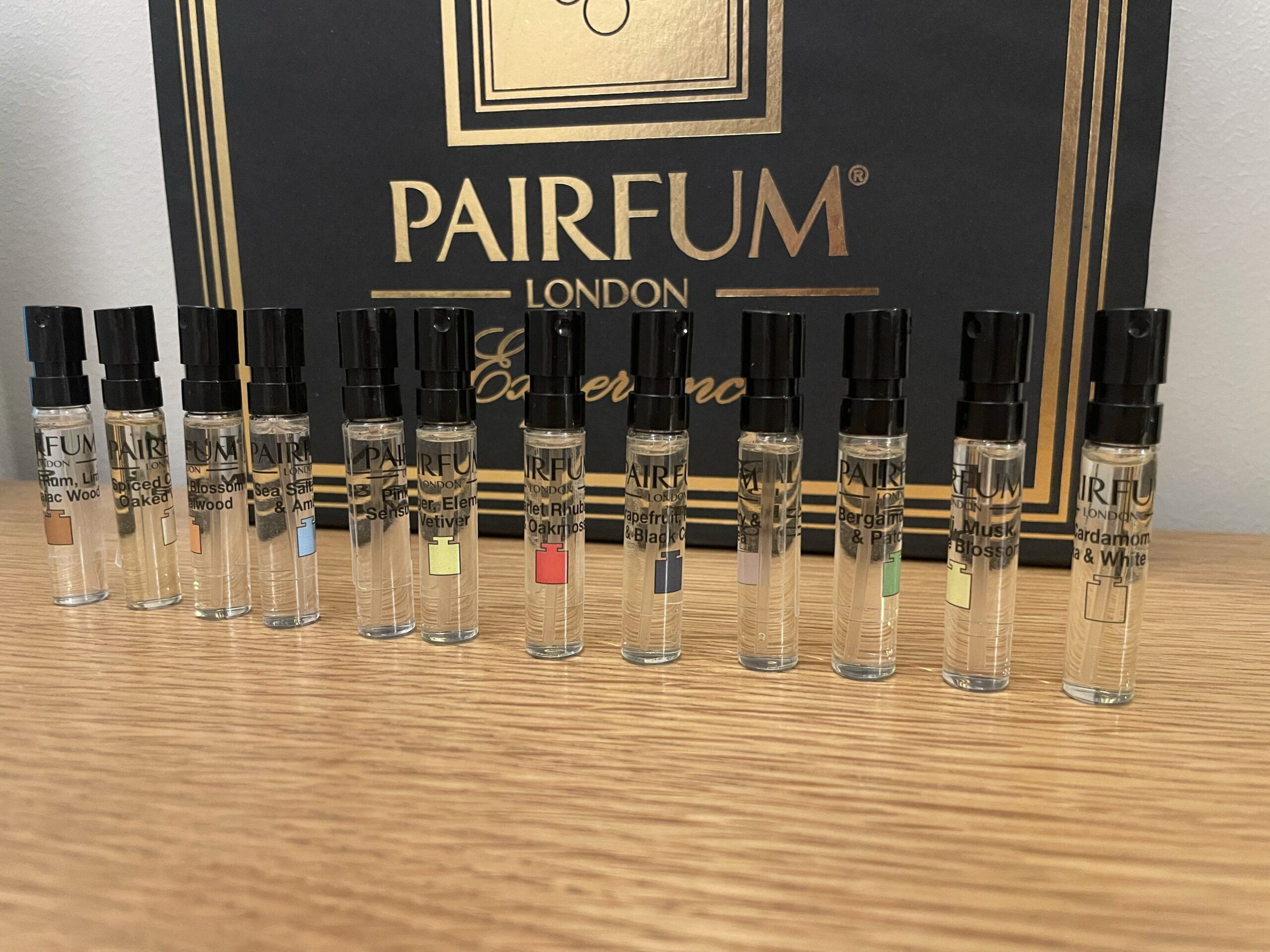 Introducing the Pairfum London Fragrance Library Perfume Experience Box