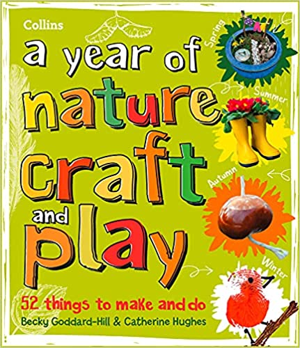 A year of nature craft and play book cover