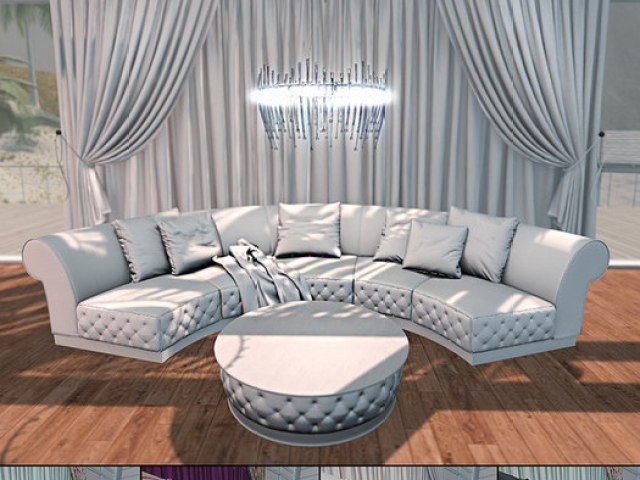 Celebutante Sofa Set