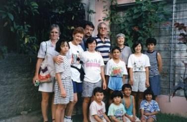 Jerry and Carolyn Parr in El Salvador