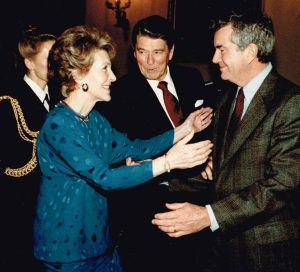 Nancy Reagan and Jerry Parr