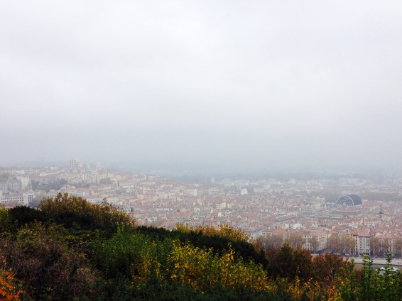 View from Fourvière to Croix-Rousse.