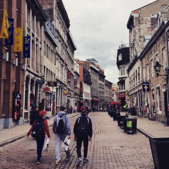 Vieux Montréal.