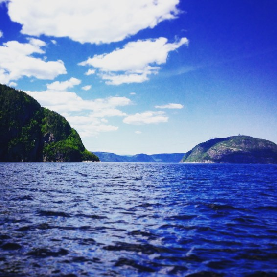 Fjord Saguenay.