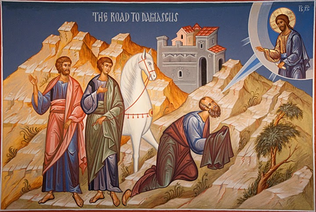 What happened to Paul on the road to Damascus? (2/2)