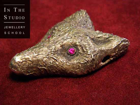 Fine-silver-fox-pendant