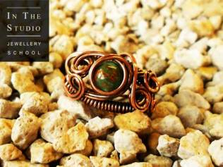 Wire-Wrap-Ring-Stone-Set
