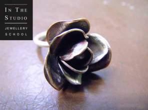 Chasing-Repousse-Rose-Ring