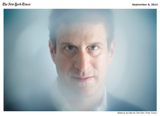 Mark Gerstein by Beatrice de Gea for the NYTimes.com