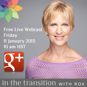 Google Plus Live Webcast with Roxanne Darling