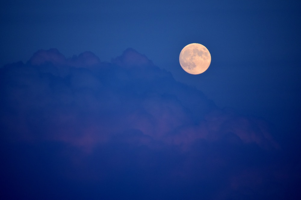full moon photo by Jeffrey Eisen