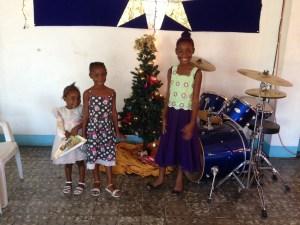 Christmas in January in Kingston, Jamaica