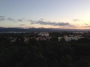 Sunrise in Santiago, DR