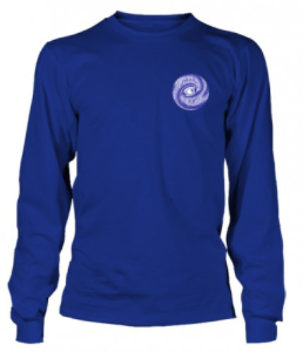 long sleeve navy front