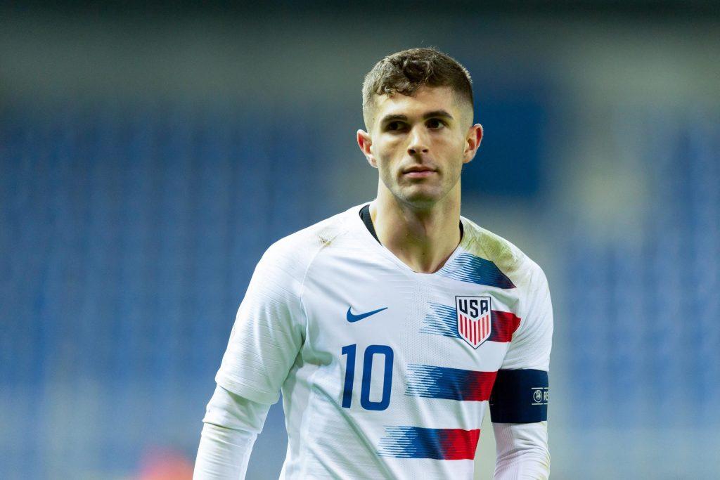 Ο Κρίστιαν Πούλισιτς με την φανέλα της εθνικής των ΗΠΑ!
