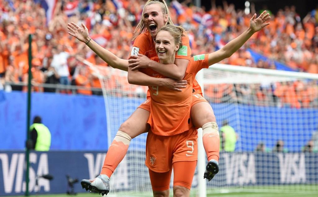 Η Μίντεμα πετυχαίνει ρεκόρ με την εθνική Ολλανδίας