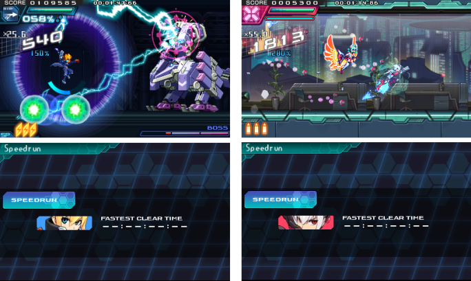 DLC Speedrun Azure Striker Gunvolt 2 DLC Pack Available Today