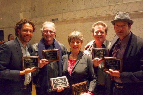 Deaf West Artistic Director David Kurs, Simon Levy, Deborah Lawlor, Stephen Sachs, Troy Kotsur.