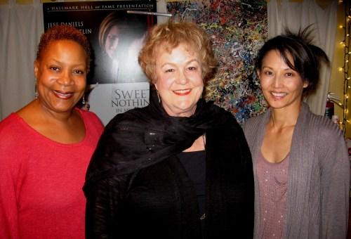 Juanita Jennings, Pamela Dunlap and Tamlyn Tomita.